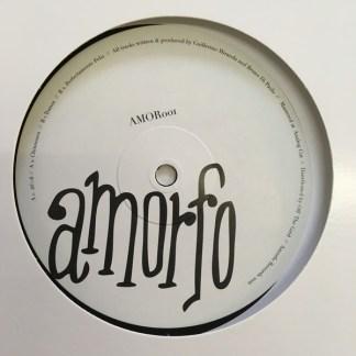 Amorfo - Bruno Di Paolo - vinilos de musica electronica