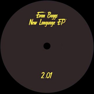 Evan Baggs - New Lenguage EP - Partout - vinilos de musica electronica