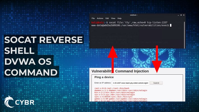 socat reverse shell os command injection banner