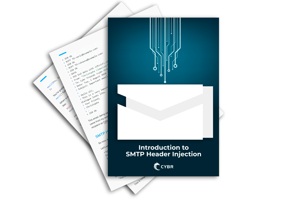 Intro to SMTP Header Injections Ebook