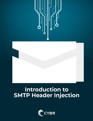SMTP Header Injections Ebook cover photo