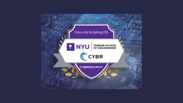 NYU XSS Badge banner
