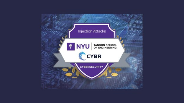 Injection Attacks NYU Tandon Engineering Badge