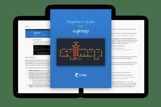 sqlmap ebook cover
