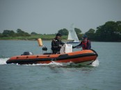 Safety boat training