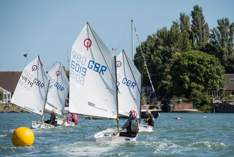 Dinghy Race Optimist Open Chichester Yacht Club