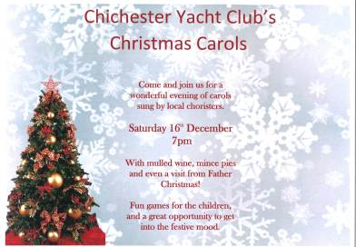 Carols at CYC- Saturday 16th December