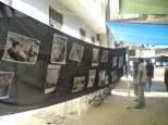 the exhibition of the massacre photos