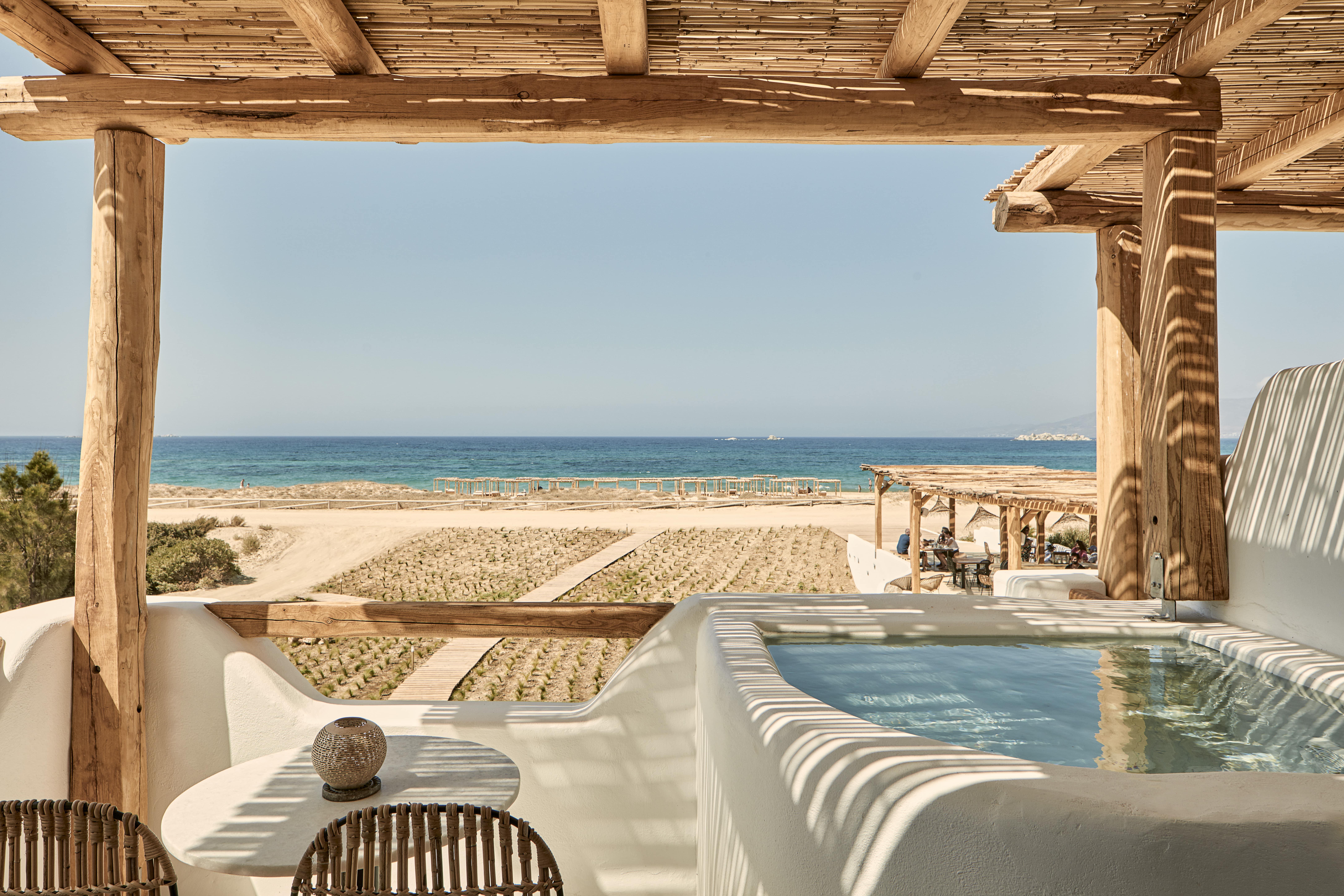 Naxian on the Beach   Naxos Island