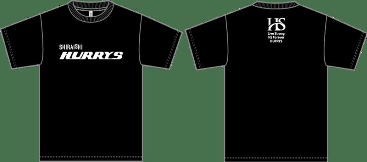 HURRYS-Tシャツ
