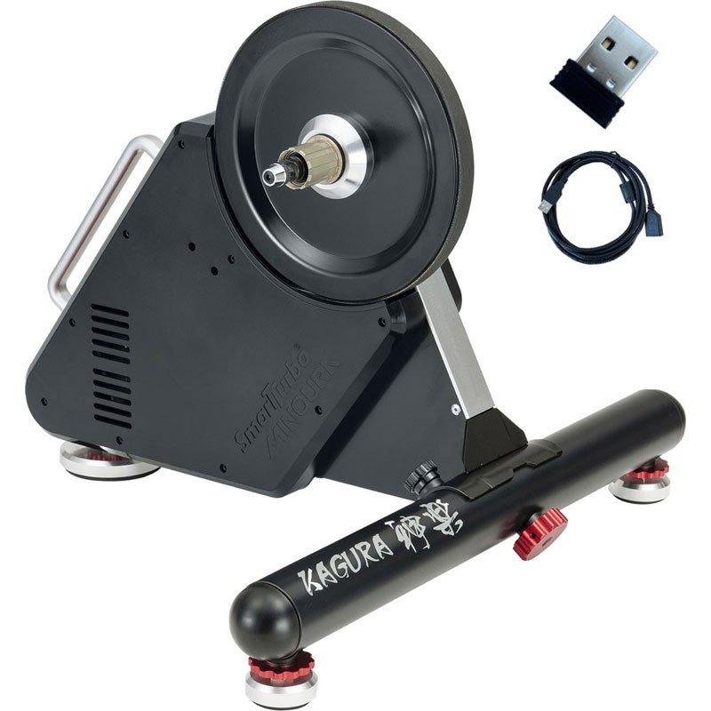 ミノウラ スマートターボ 神楽 LSD9200 LED3灯 ANT+ドングル&USBケーブルセット