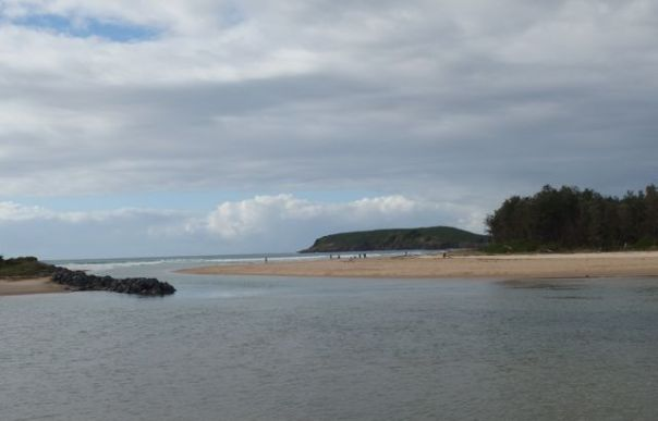 Coffs Harbour on a Sunday morning.