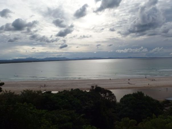 Byron Bay as seen from the lighthouse.