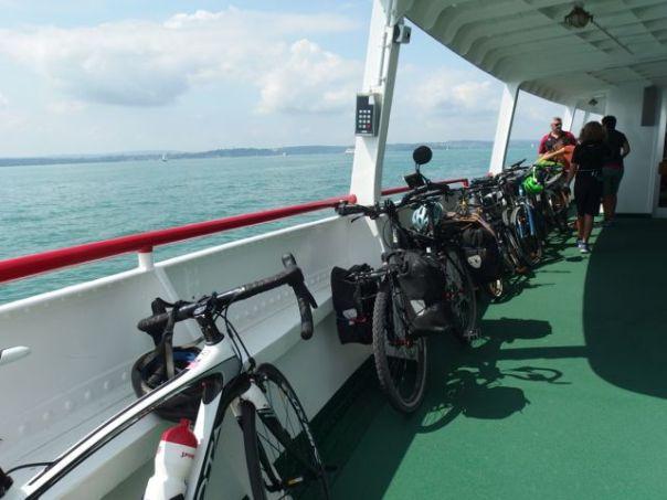 Ferry from Meersburg to Konstanz