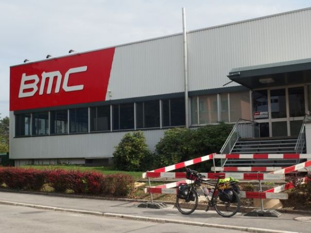 One of my random choices took me by the BMC factory which was exciting.