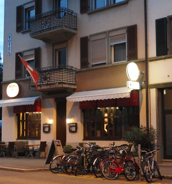"The Hotel Artus in Biel/Bienne was a real ""find."" Friendly owners, good food and a great bed!"
