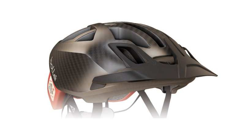 Detachable MTB visor