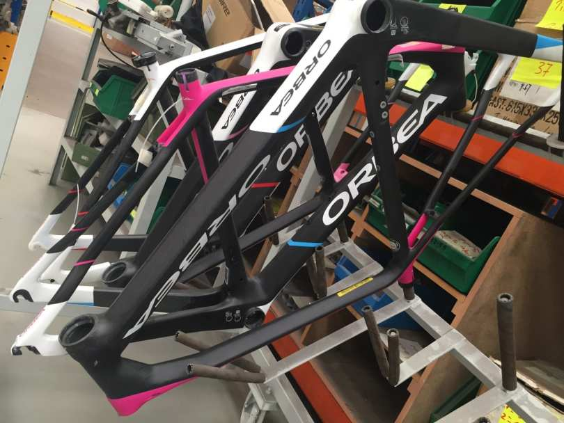Orbea factory tour 2016