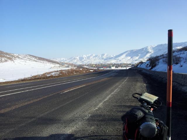 The road to Bingöl