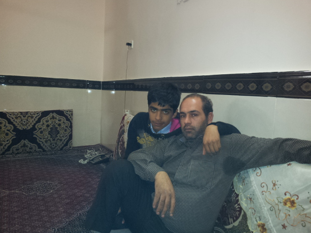 Mehrdad and his son