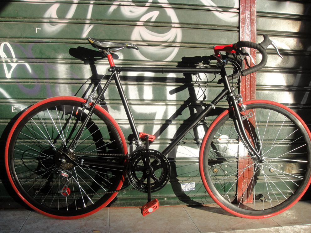 puch bicycle makeover