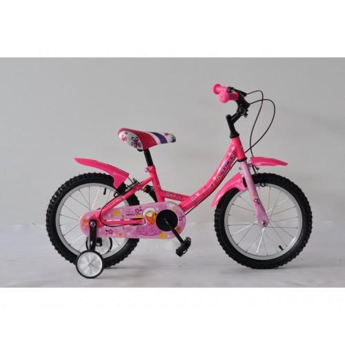 bicycle, kid, pink, purple, style, γυναικείο, μωβ, παιδικό, ποδήλατο, ροζ, 16''