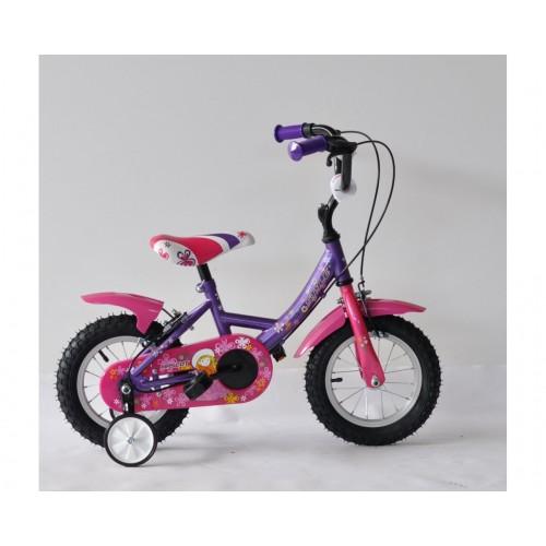 ποδήλατο, παιδικό, γυναικείο, 14'', ροζ, μωβ, style, bicycle, kid, pink, purple