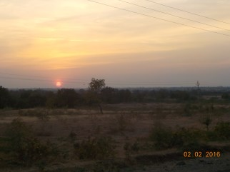 our final sunset in Maharashtra