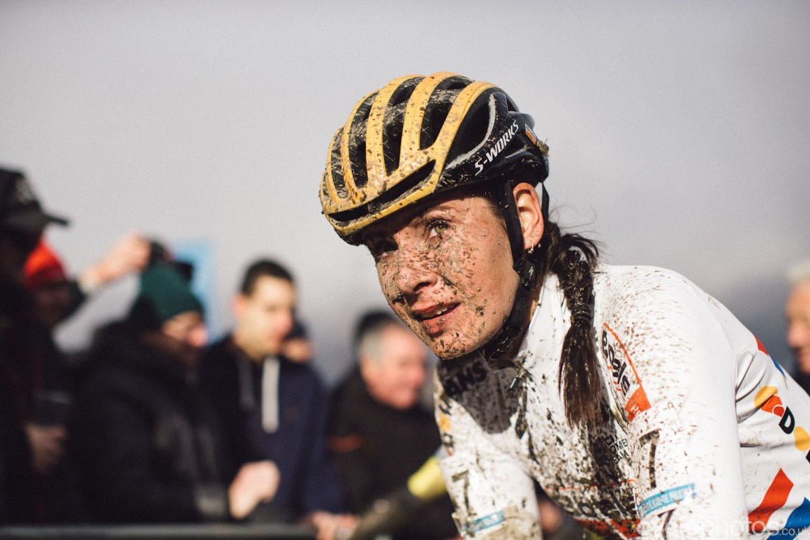 Nikki Brammeier at Cyclocross Superprestige #5 - Gavere, BEL