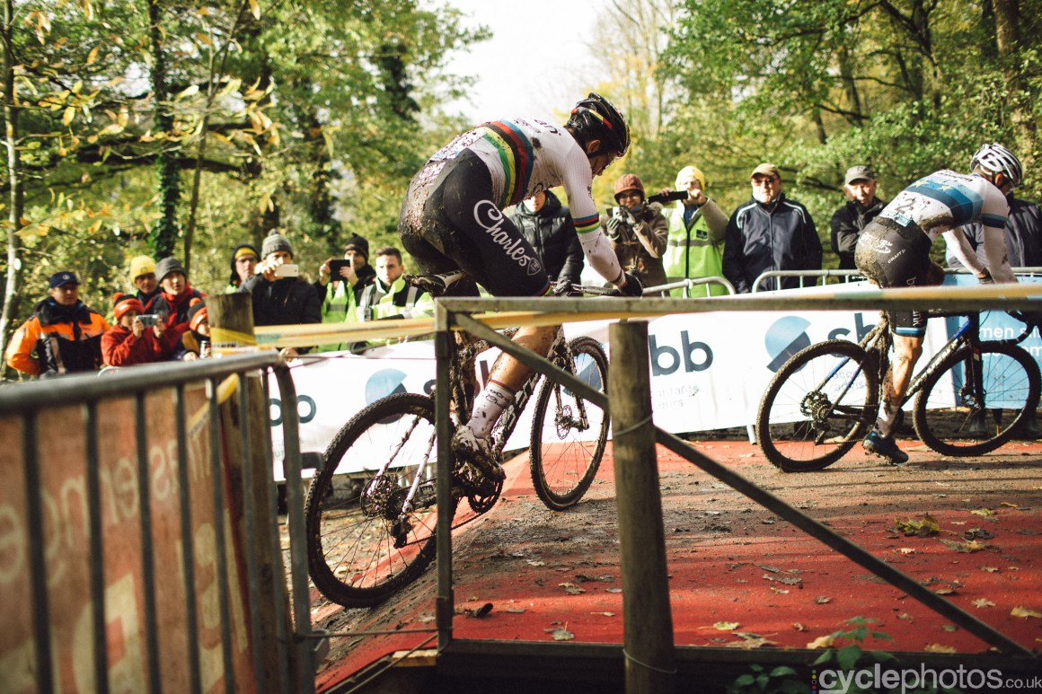 Wout VAn Aert at Cyclocross Superprestige #5 - Gavere, BEL