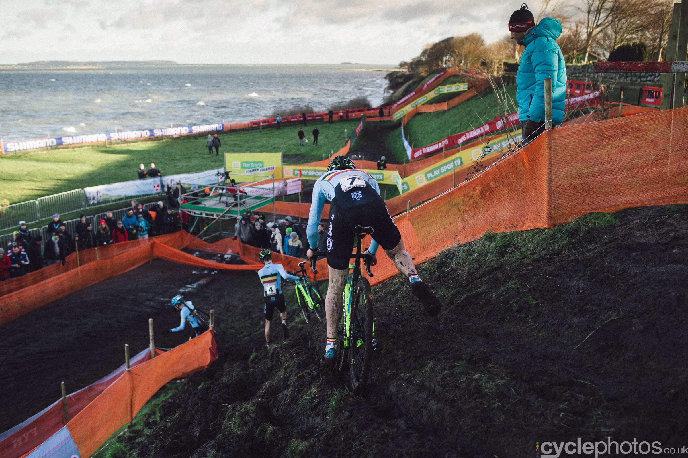 Ryan Cortjens at UCI Cyclocross World Cup #4 - Bogense, DEN