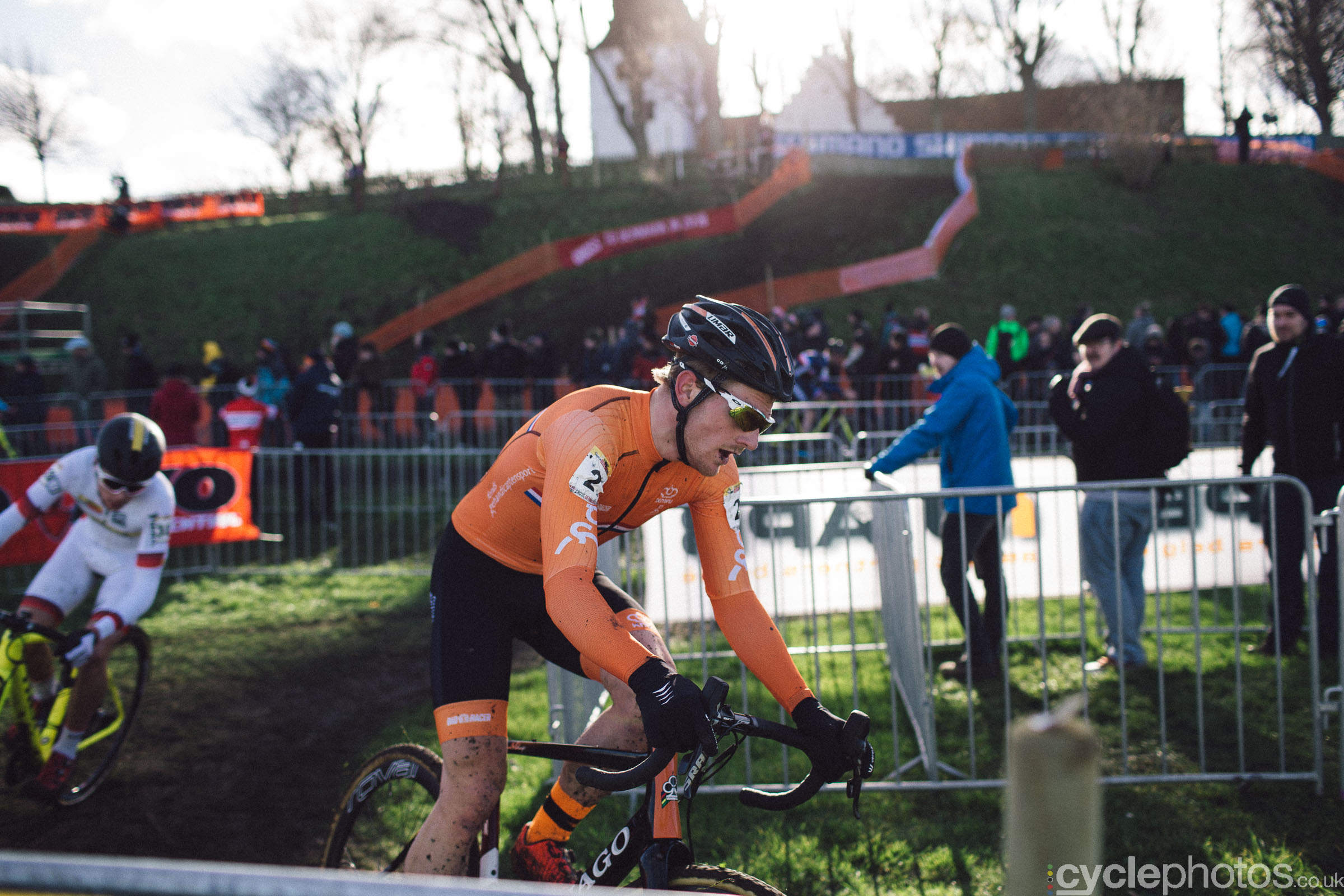 Sieben Wouters at UCI Cyclocross World Cup #4 - Bogense, DEN