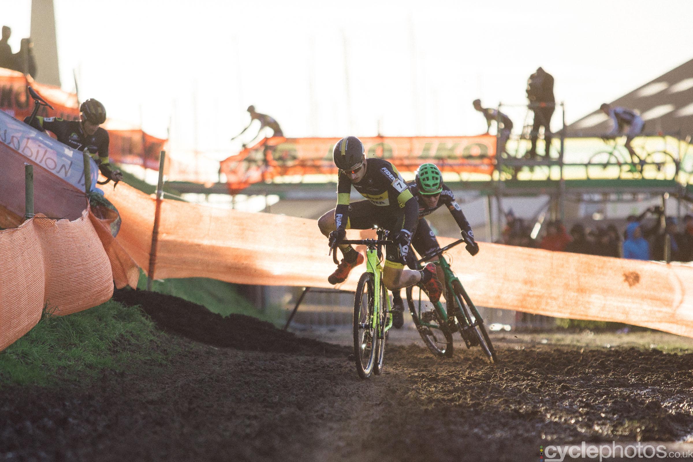Quinten Hermans at UCI Cyclocross World Cup #4 - Bogense, DEN