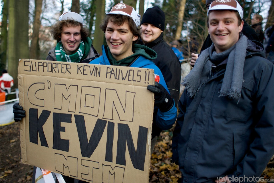 Kevin Pauwels supporters