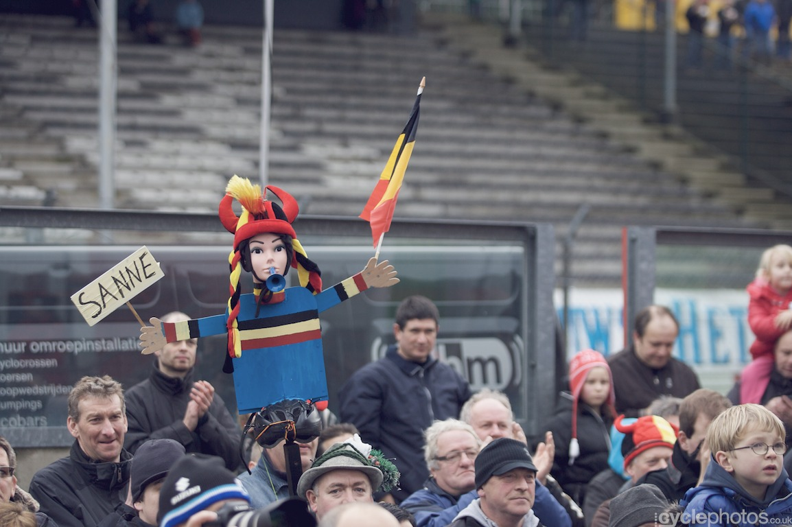 Sanne Cant supporters