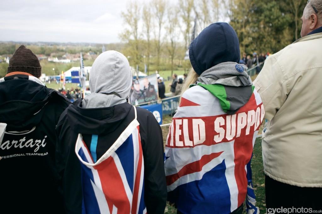 Ian Field supporters