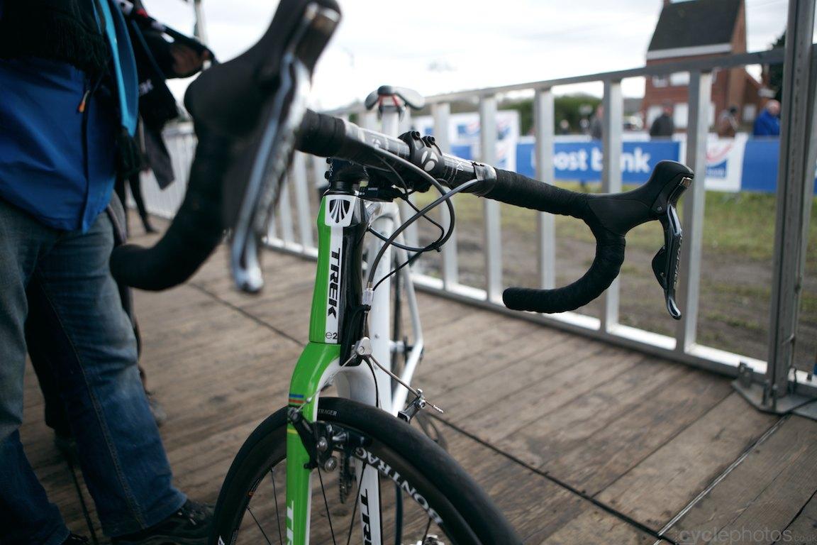 Sven Nys' all new Trek Boone cyclocross bike