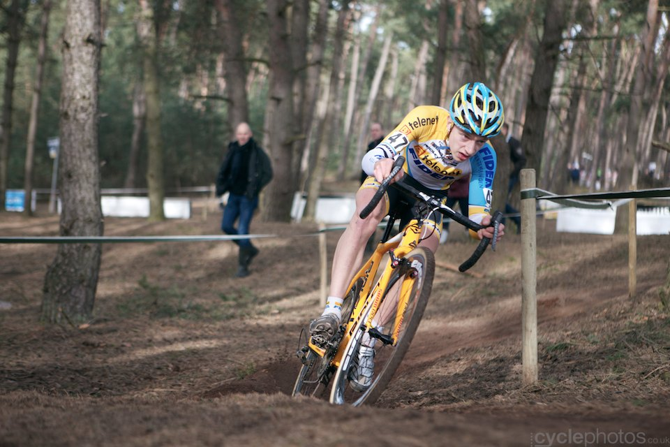 Quinten Hermans. 2014 Bpost Bank Trofee #8, Oostmalle. Copyright by cyclephotos.