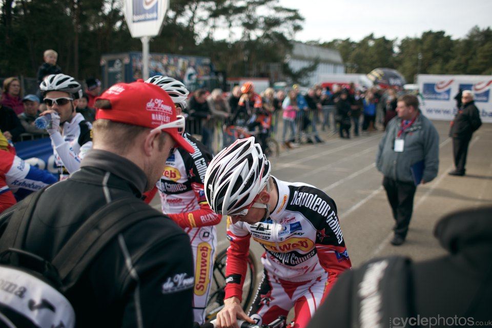 Kevin Pauwels. 2014 cyclocross Bpost Bank Trofee #8, Oostmalle. Copyright by cyclephotos.
