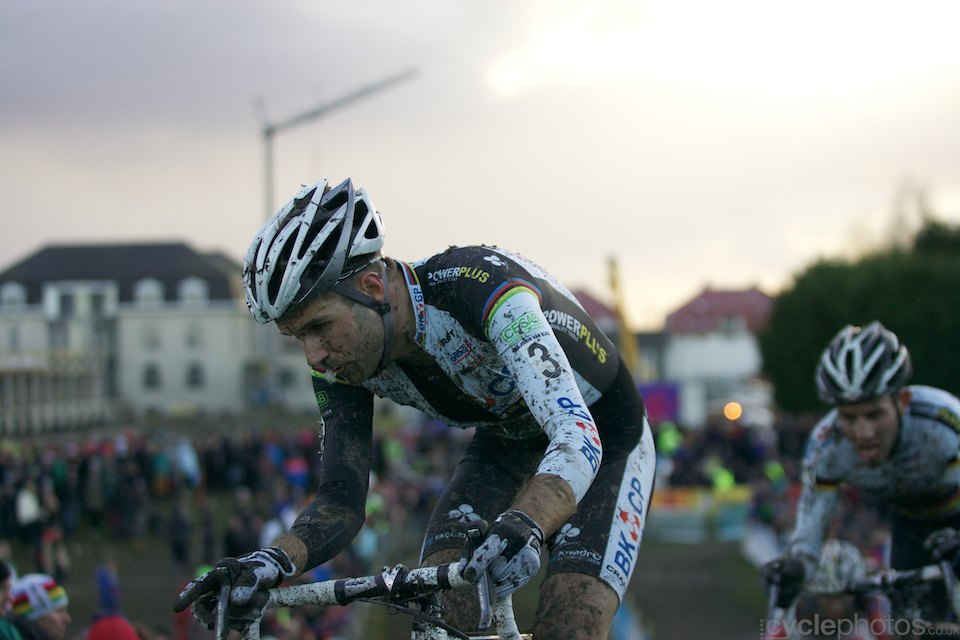 Niels Albert, Superprestige #8 cyclcoross race at Middelkerke, 2014, Belgium. All rights reserved by Cyclephotos