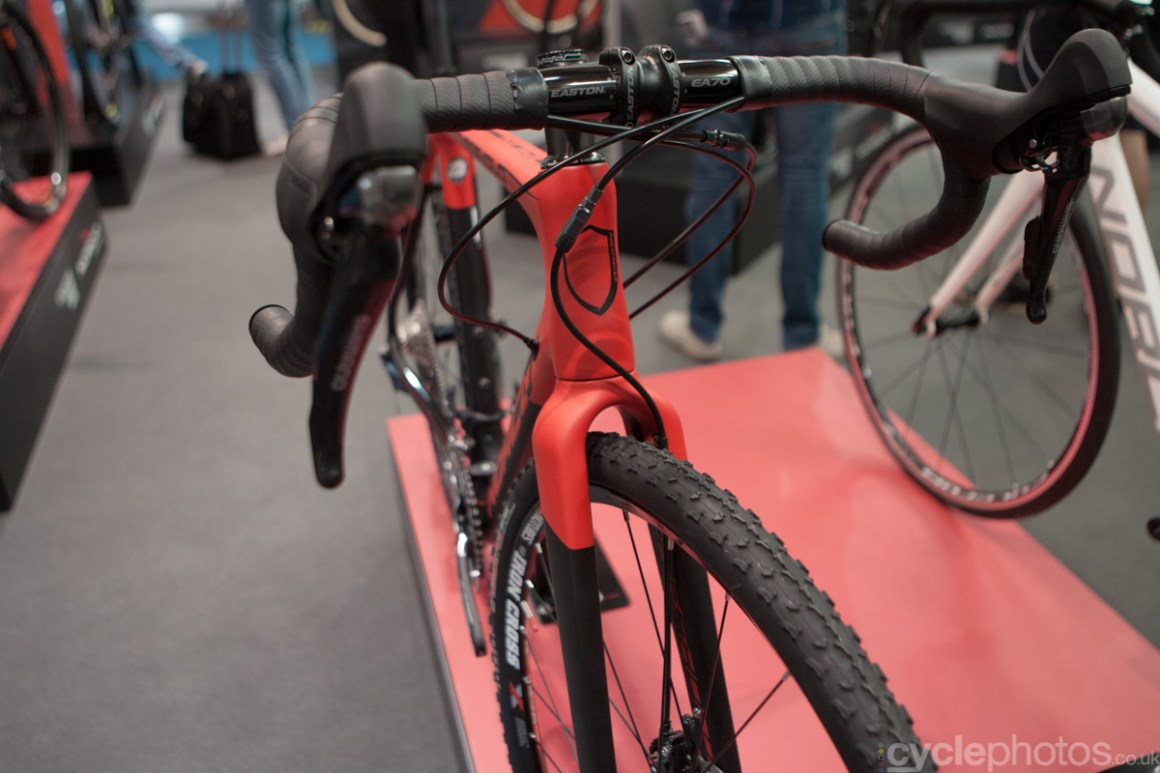 Norco cyclocross bike at the 2014 Eurobike Bike show in Friedrichshafen, Germany.