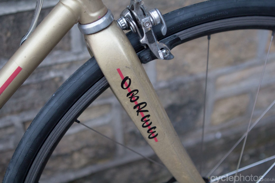 Grame Obree's bike