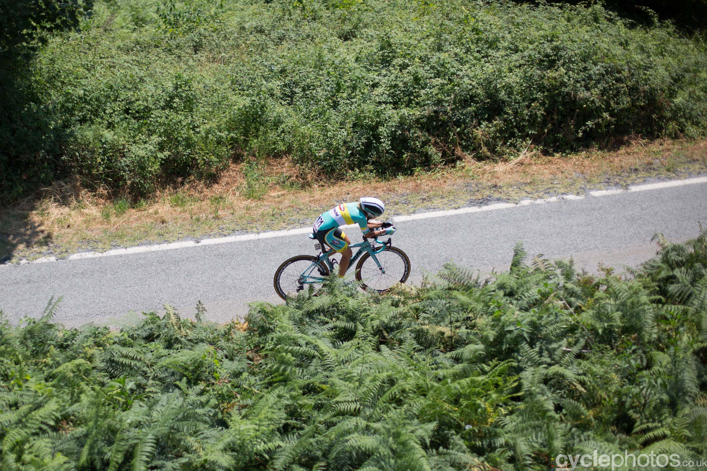 Alice Maria Arzuffi during the 8th Stage of the 2015 Giro Rosa