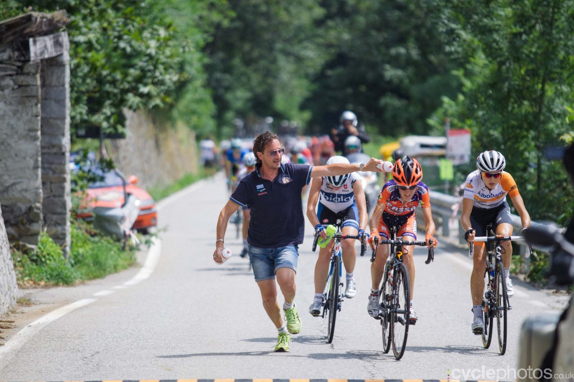 9th stage of the 2015 Giro Rosa