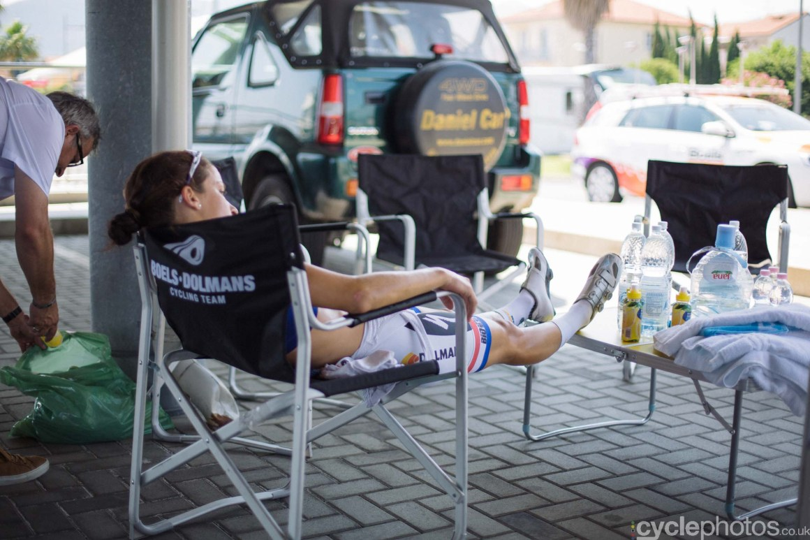 Lizzie Armitstead, after the 7th stage of the 2015 Giro Rosa