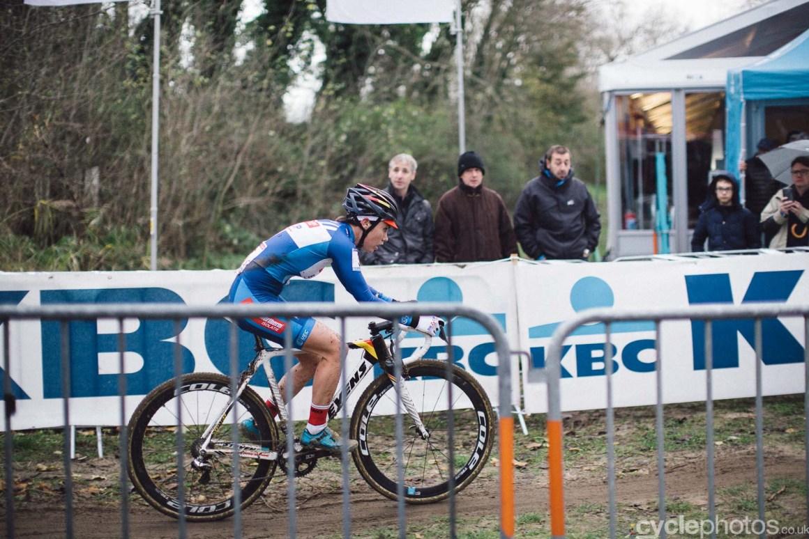 2015 Cyclocross World Cup Koksijde cyclocross photos, Sanne Cant