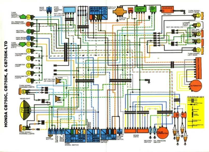 dohc cb750 wire diagram cb750 bobber wiring reviewmotors co dohc cb750 chopper wiring diagram #3
