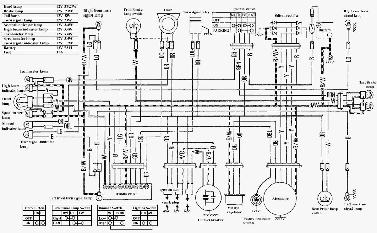 Suzuki T250 Wiring Diagram - Electrical Drawing Wiring Diagram •