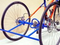 Acier fourche carbone  Arrière du tricycle avec la barre de sécurité