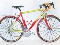 MONTAGE CAMPAGNOLO CENTAUR triple roues 700C, porte-bagages tube de 6 mm chromé, poids 10 kg 900